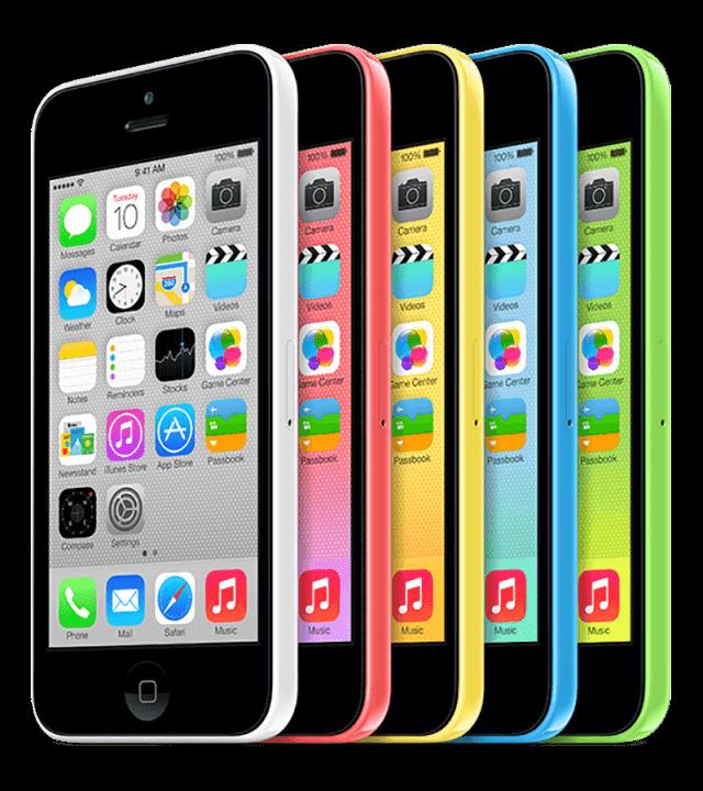 Ремонт экрана iPhone 5c
