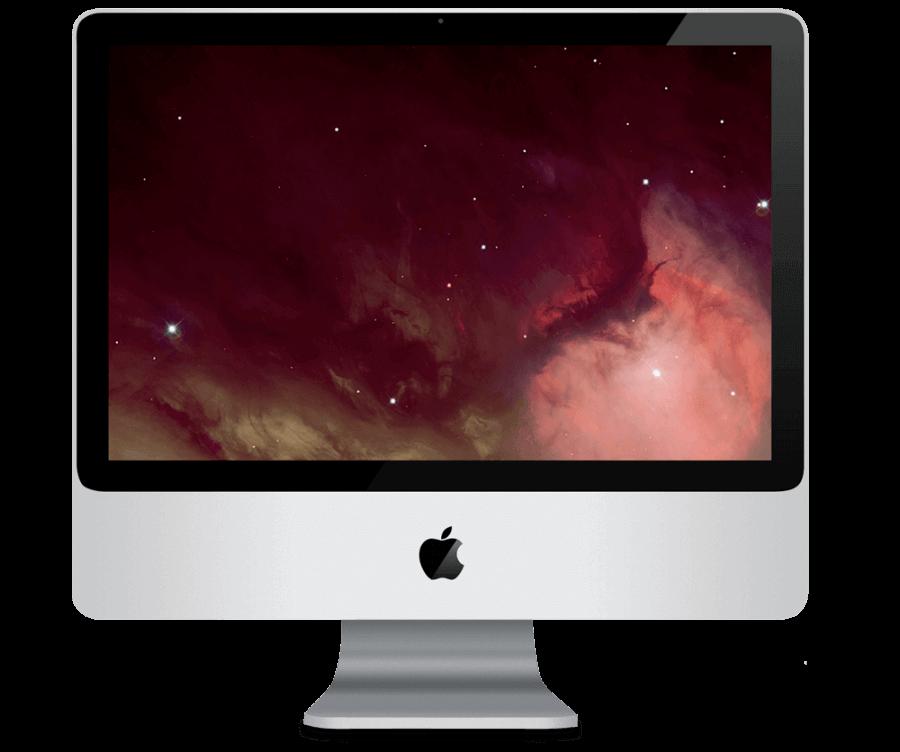 Замена динамика в iMac 24